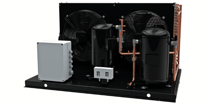 Condenser for food services
