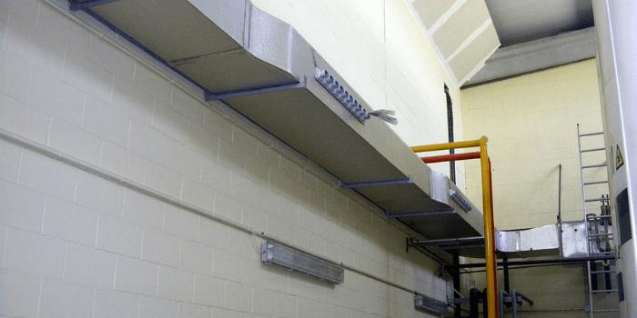 Paneles aislantes para ducto