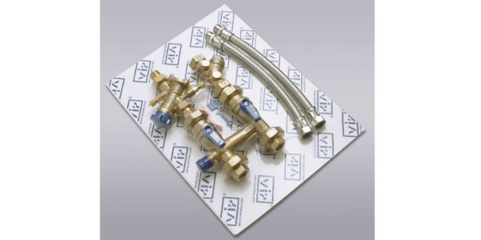 Connection kit for HVAC