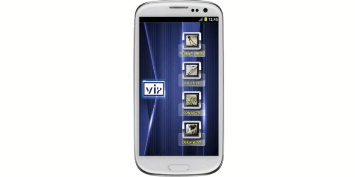 App móvil para selección y medición