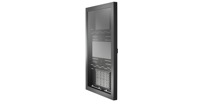 Wall cabinet for digital signage