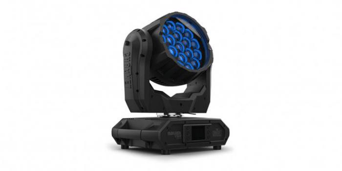 Cabeza móvil de iluminación