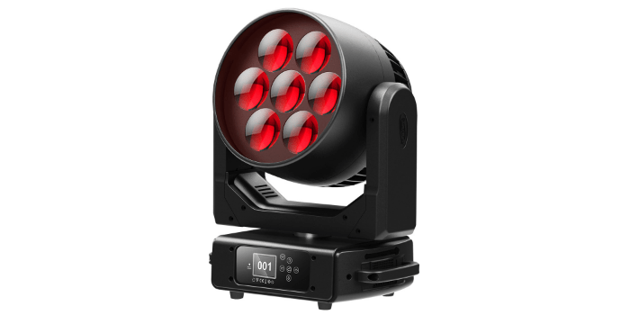 Compact LED luminaire