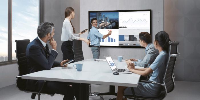 Solución interactiva para reuniones