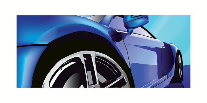 Pigmento azul automotriz