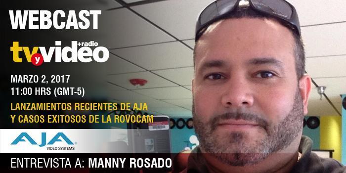Manny Rosado, AJA Video Systems