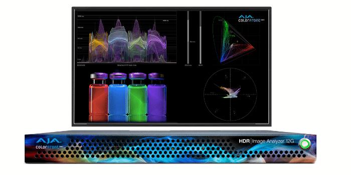 Analizador de imagen HDR