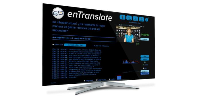 Solución de traducción en vivo