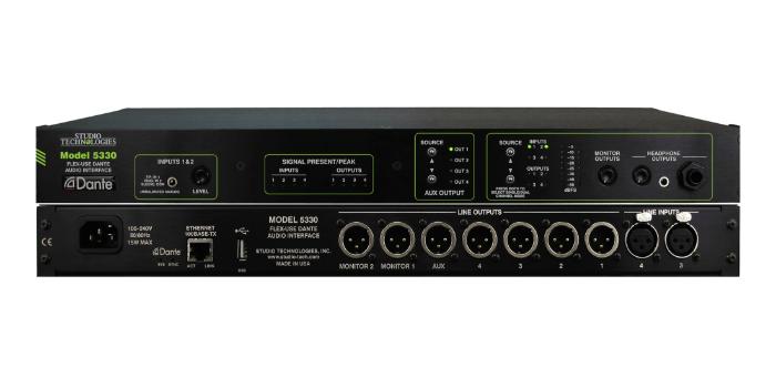 Solución de audio flexible