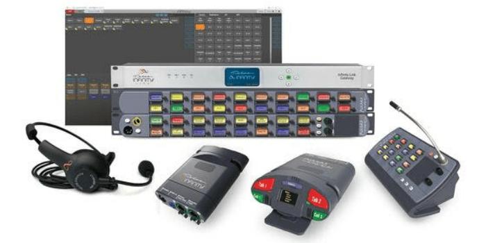 Solución de intercomunicador sin matriz
