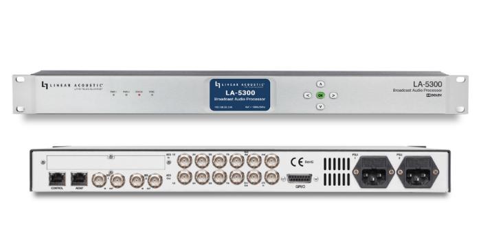 Procesador de audio para transmisión