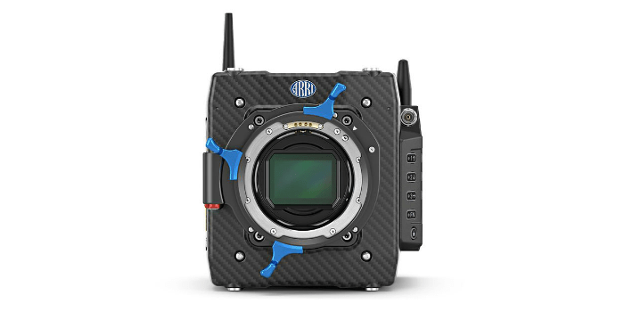 Compact camera for large format