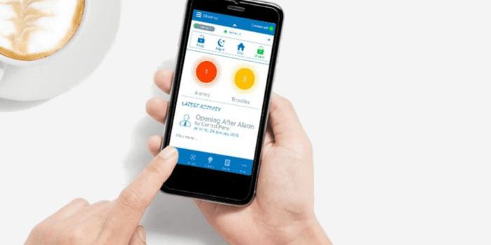 App para gestión de alarmas