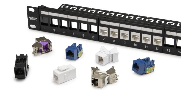 Panel de conexiones