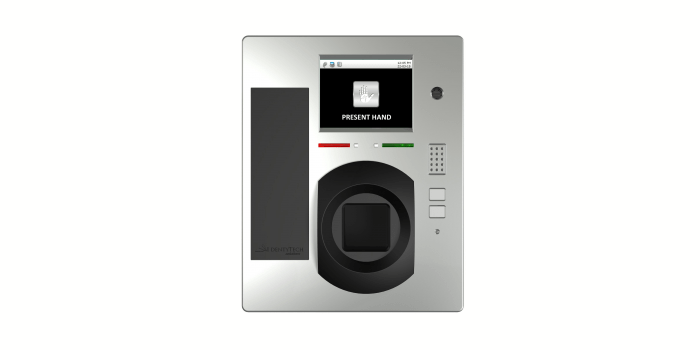 Lector biométrico sin contacto
