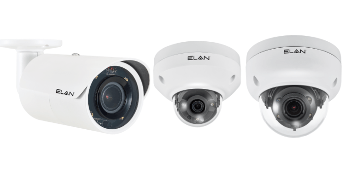 Cameras with motion detection
