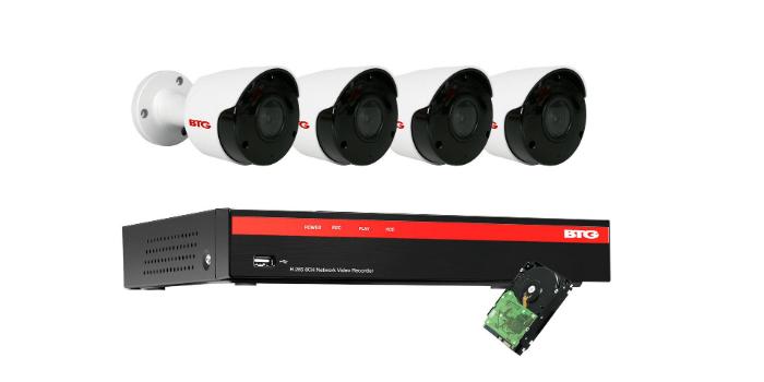Kit de CCTV de 8 canales