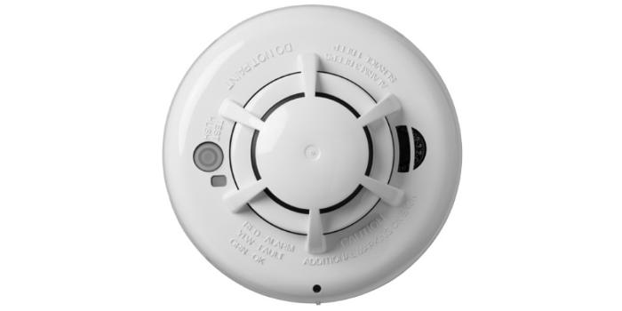 Detector de fumaça e calor sem fio